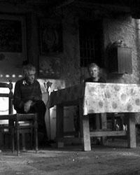 Antonio Salimbeni - una scena di Ritrarsi